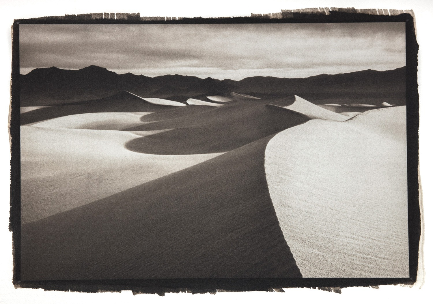 """First Light on Mesquite Dunes"""