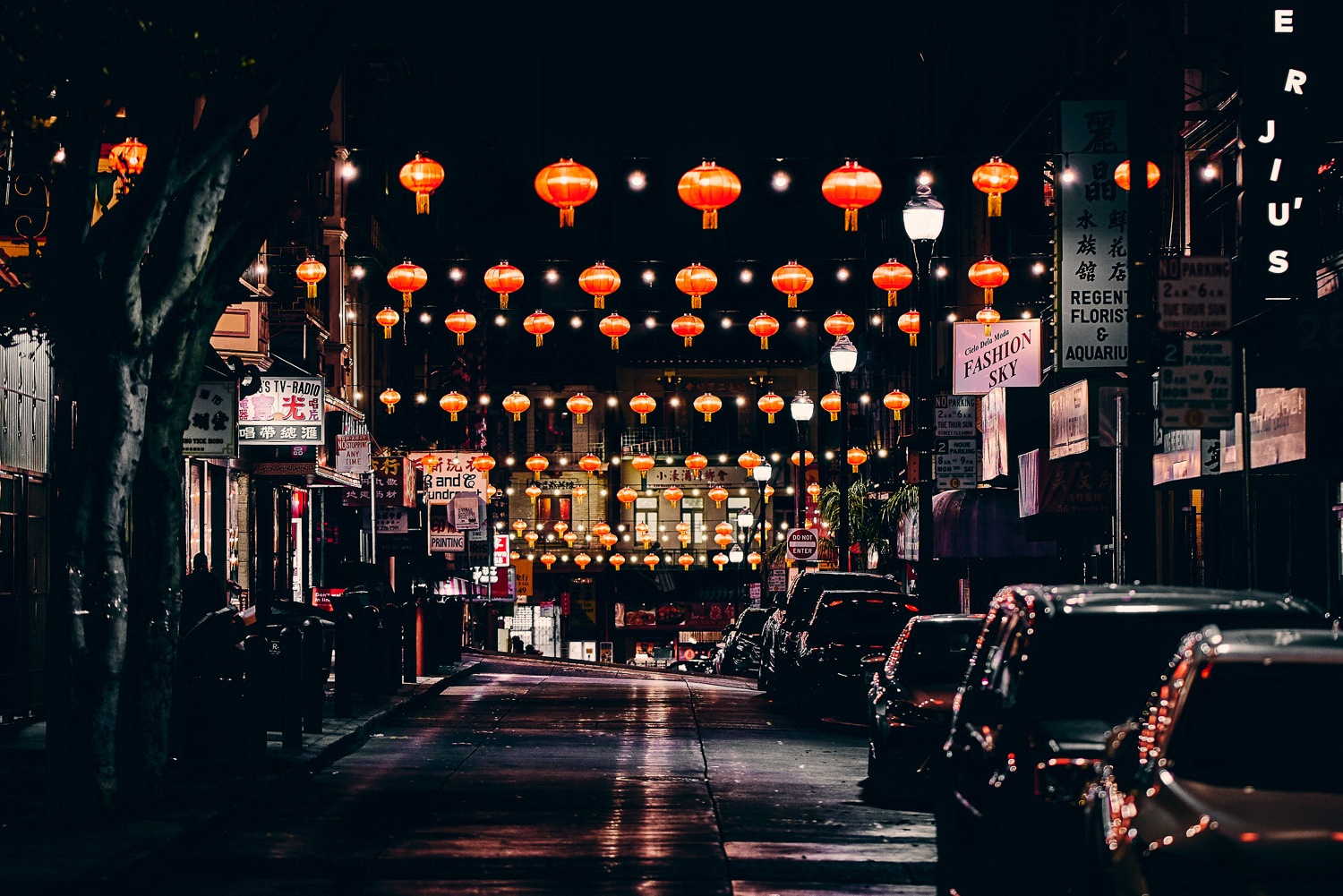 Advanced Night Photography Workshop 2020. Mill Valley. Marin County. Chinatown San Francisco
