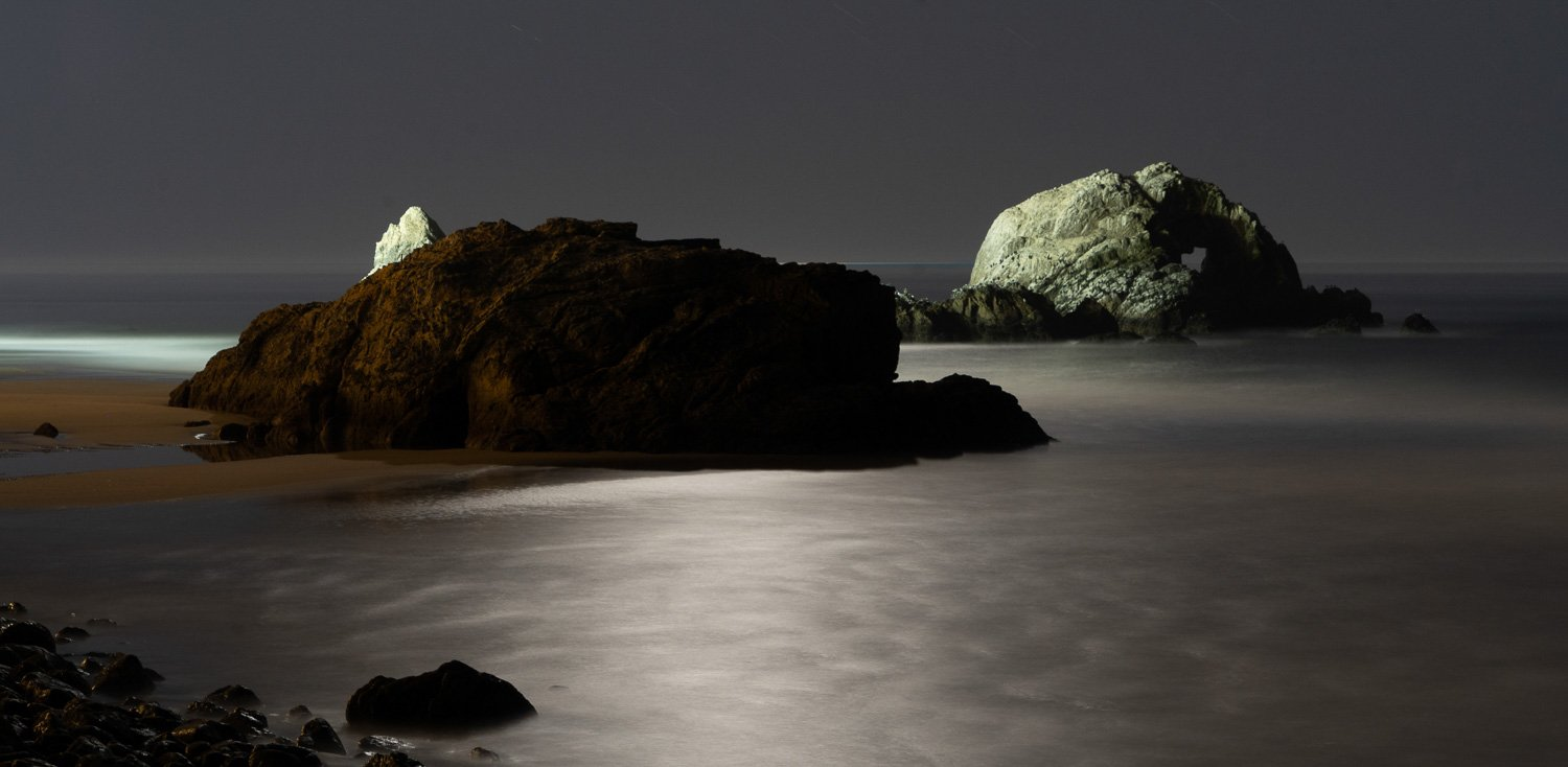 Advanced Night Photography Workshop 2020. Mill Valley. Marin County. Photo © Lawrie Mott
