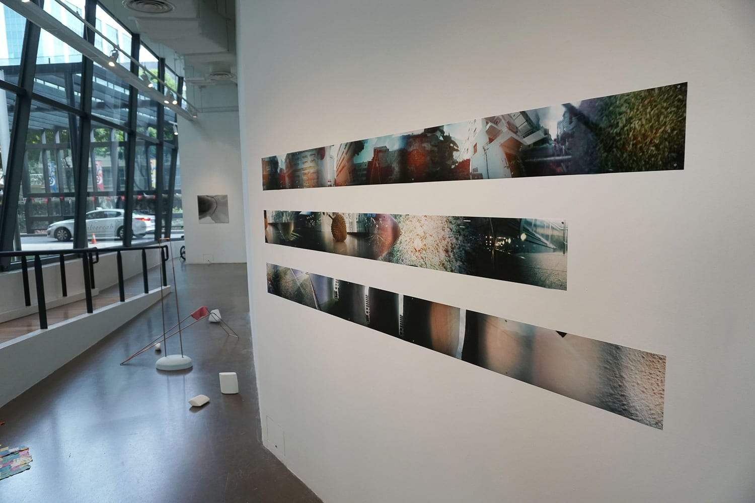 """""""Fictive Dreams,"""" Installation view. 2016. Archival inkjet print from scanned color negative. From the series """"Timeline of place"""""""