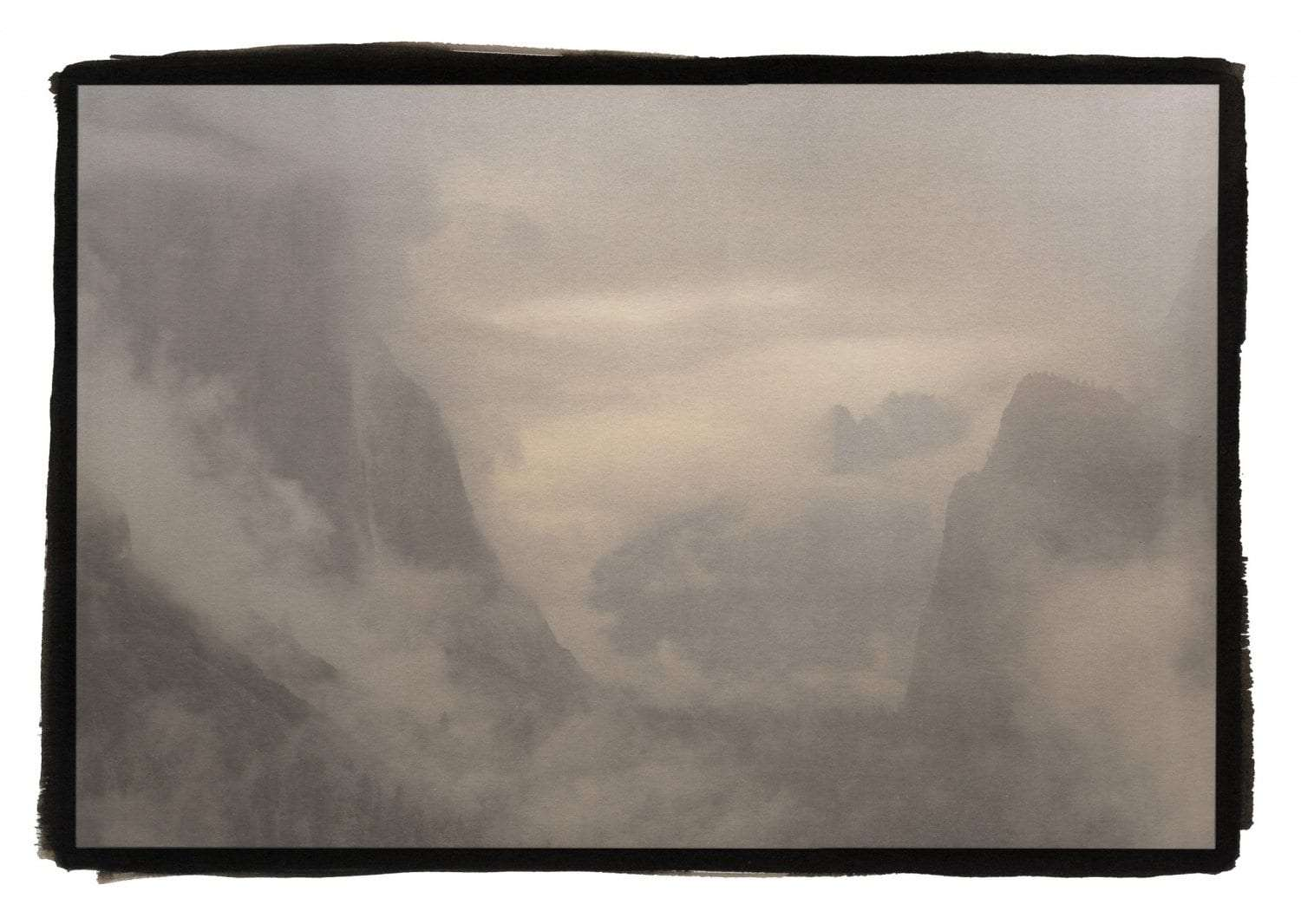 """""""Tunnel View and Fog, Yosemite"""""""