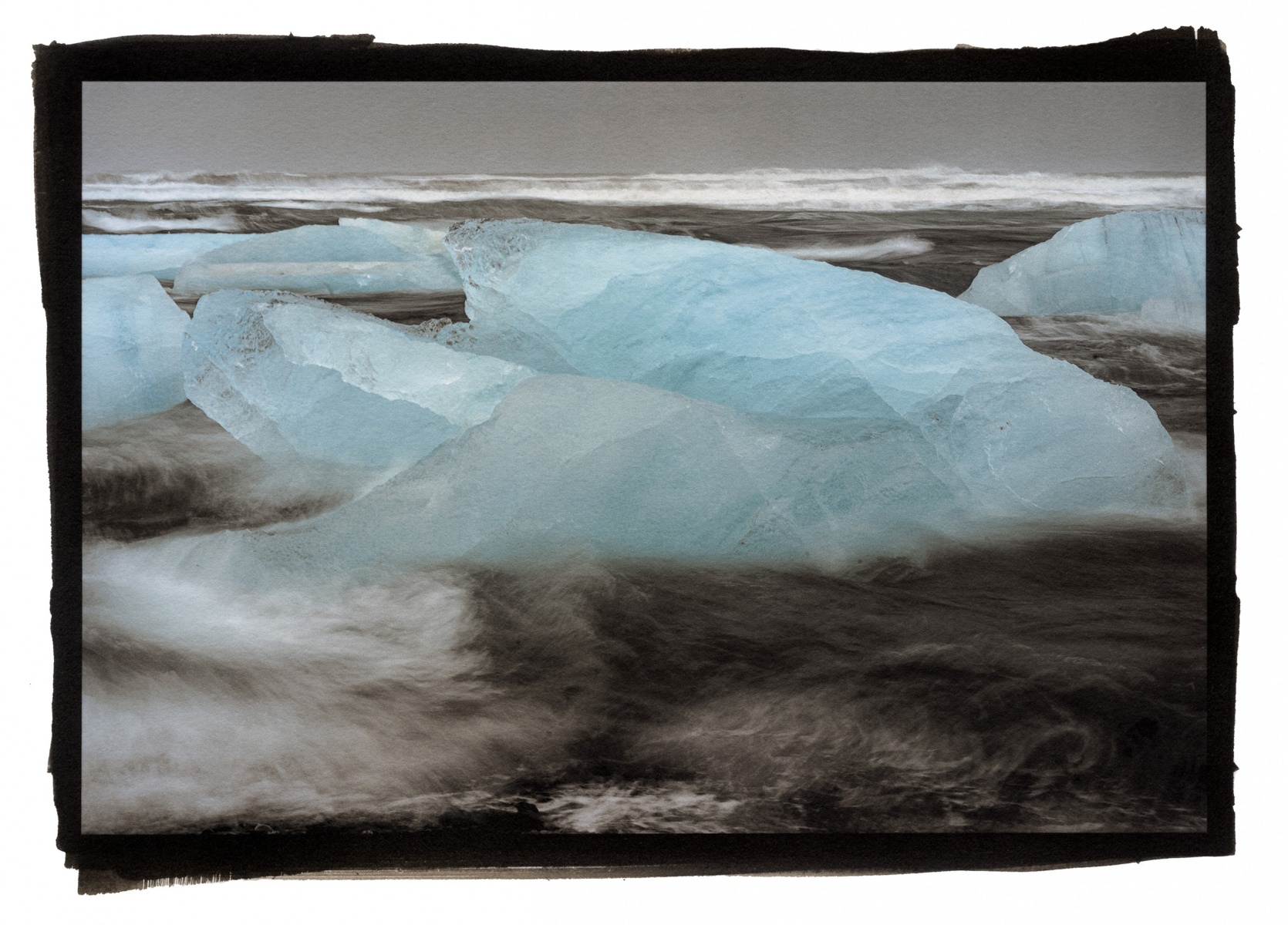 """Ice and Surf, Iceland\"""