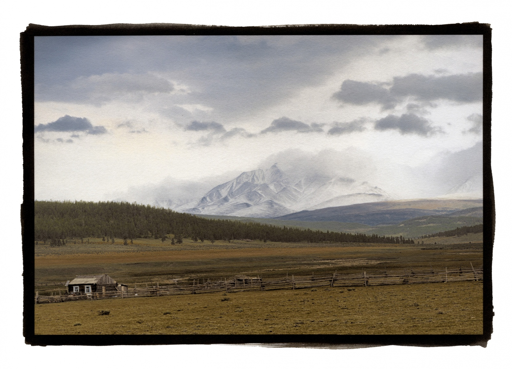 """Looking Into Russia, Northern Mongolia\"""