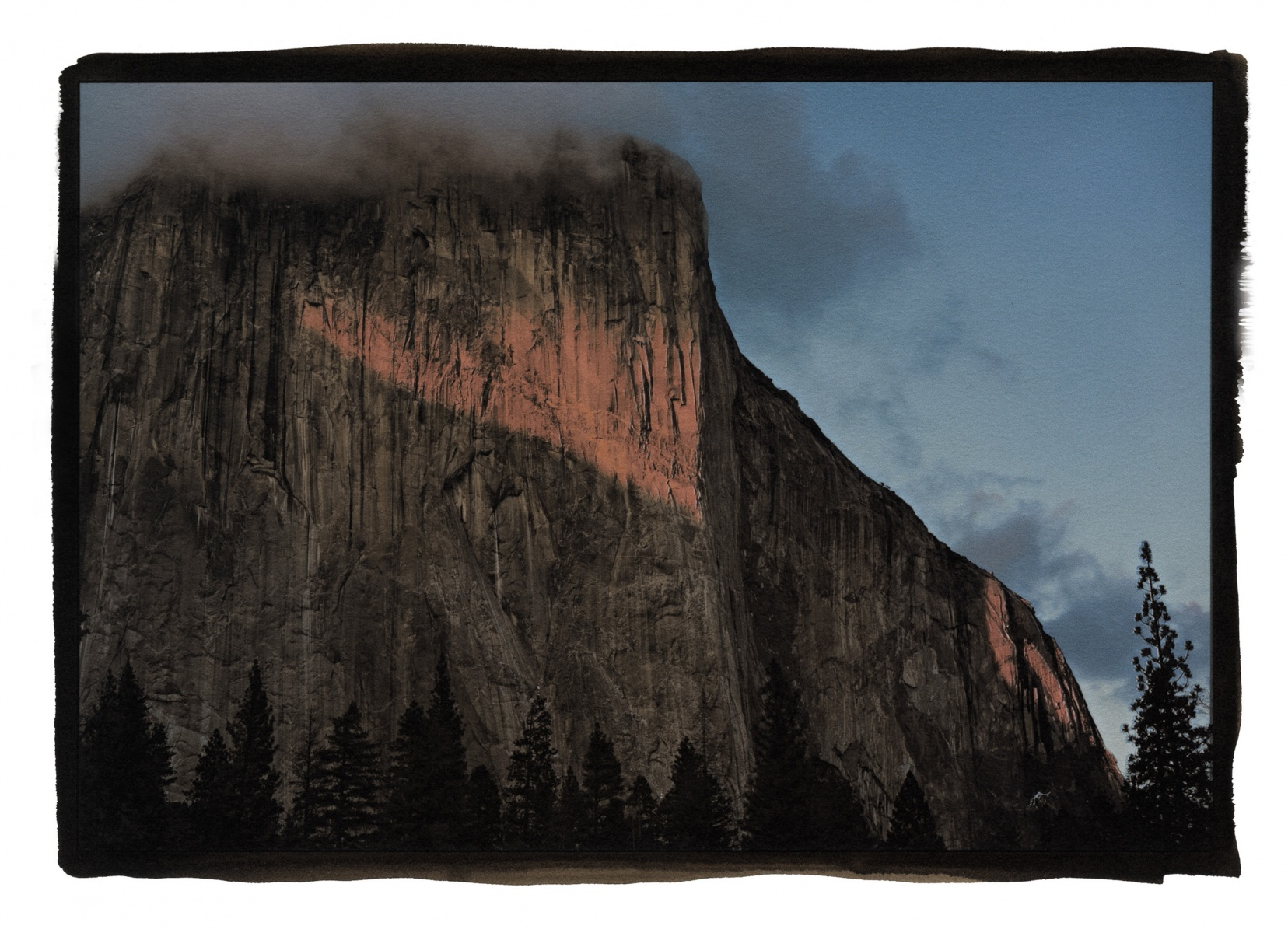 """Sunset, El Capitan, Yosemite"""