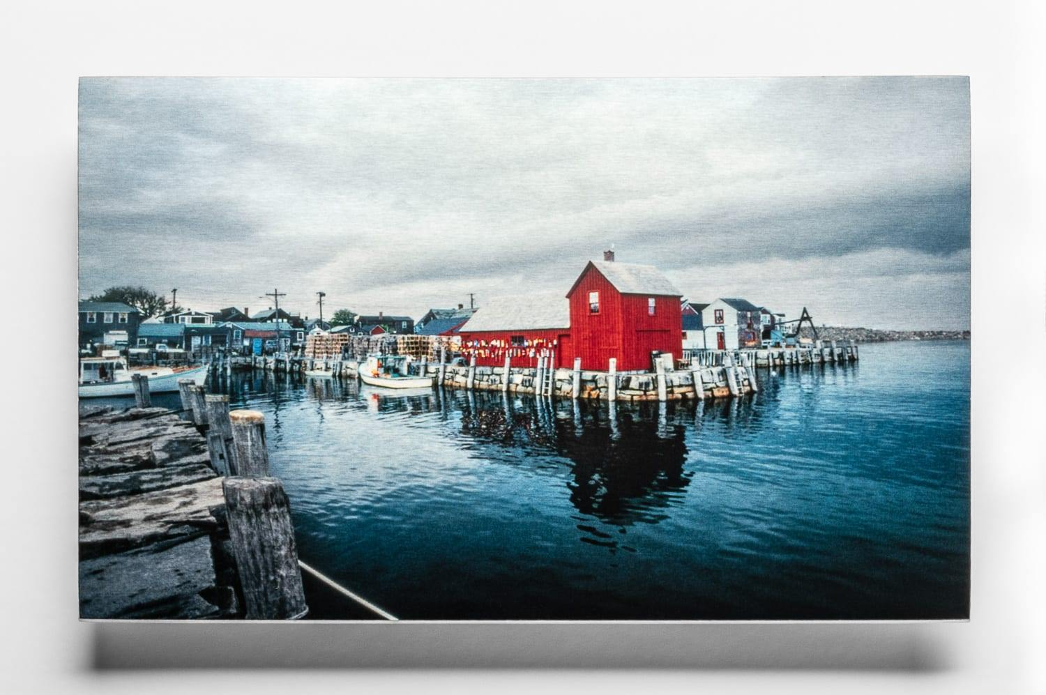 Color, Clear Semi-Gloss, Chromaluxe Metal Prints