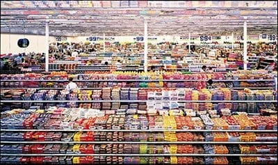 Andreas Gursky, 99 Cent, 1999 photography lecture