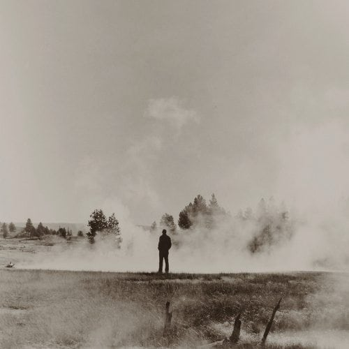 Alternative process photography exhibition Figure and Steam, Yellowstone National Park Ann Pallesen Gallery 291