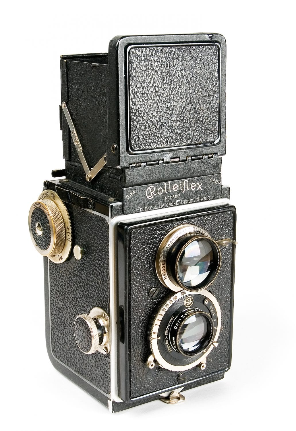 A Rolleiflex Original camera with Carl Zeiss Jena Tessar F/3.8, 7.5cm lens. Photo © Eugene Ilchenko.