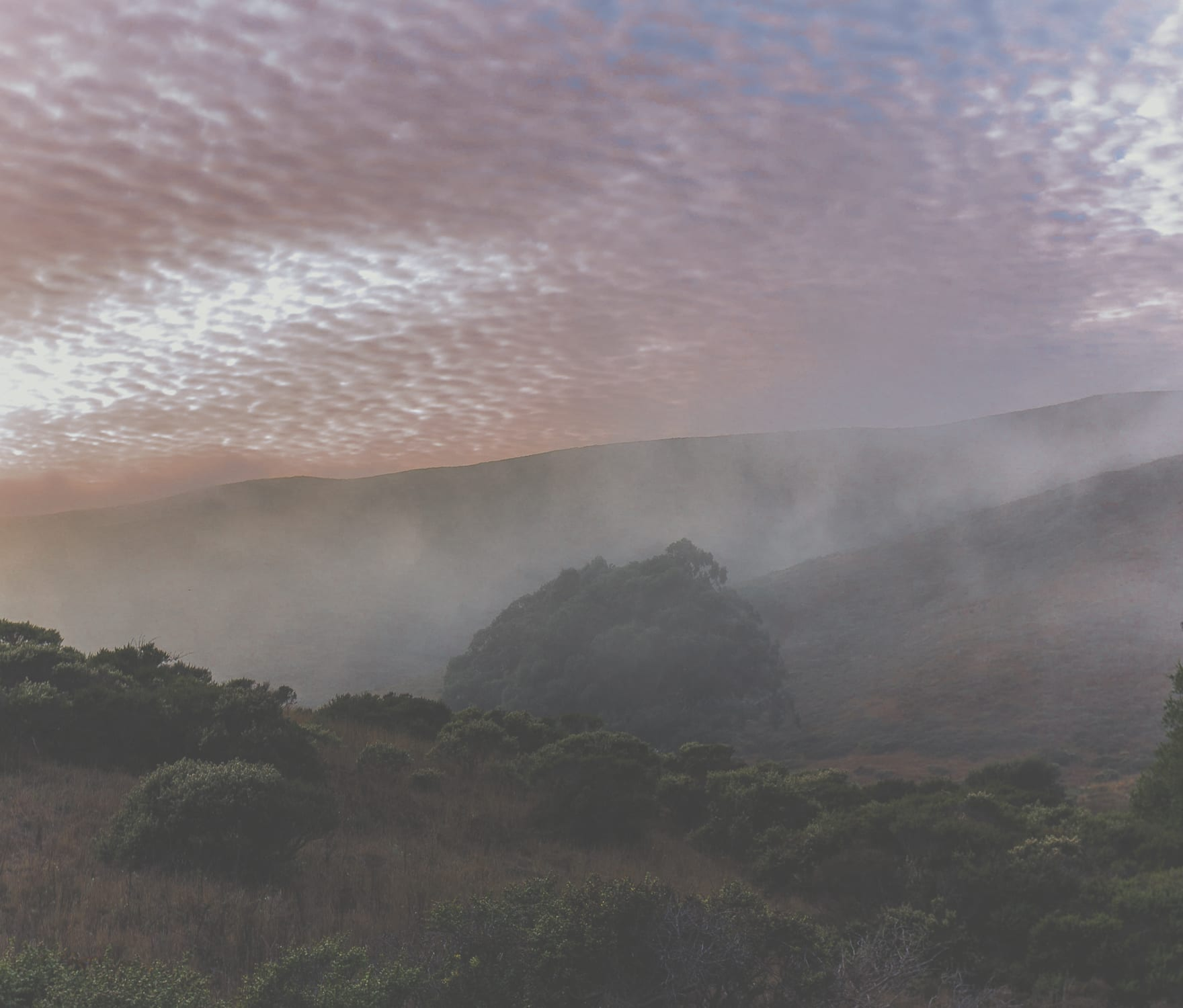 Mystical Cloud Cover Tennessee Valley
