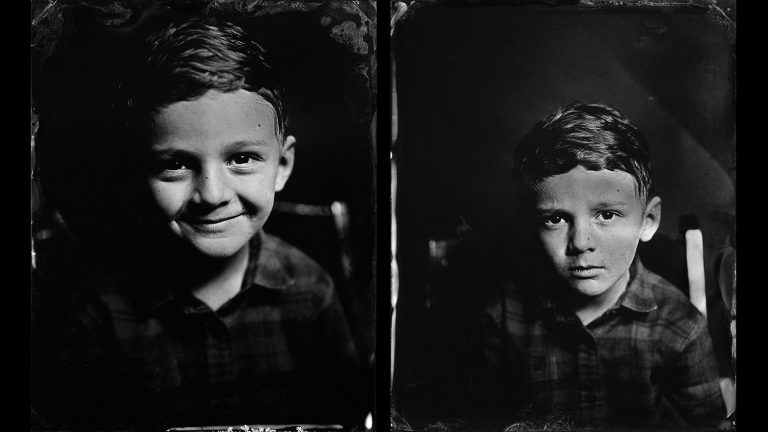 Tintype Workshop | Wet Plate Collodion Photography | The Image Flow. Tintypes © Scott Ellison