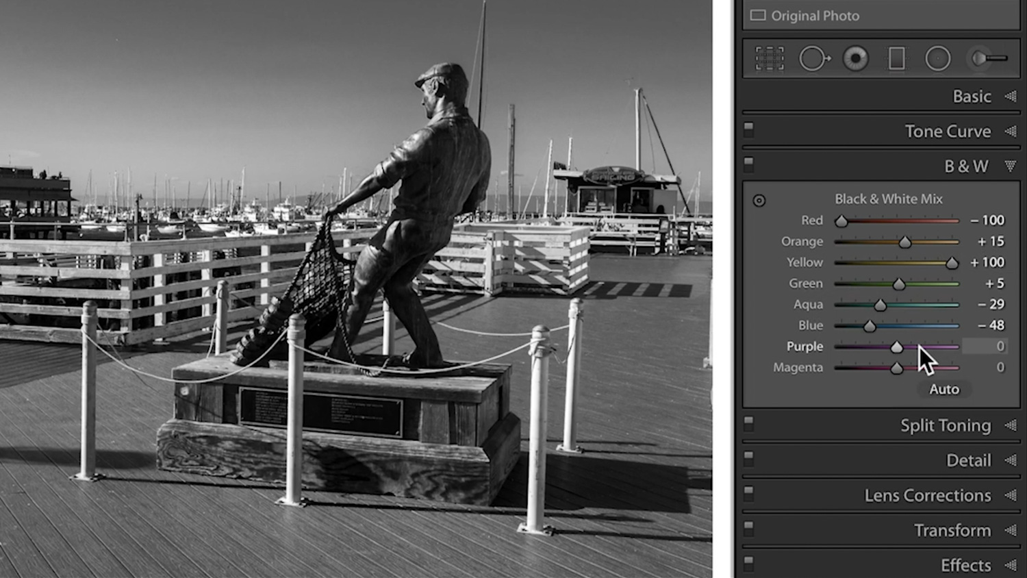 Online Photography Classes 2020 | Lightroom Black and White