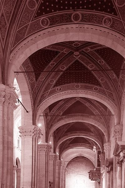 Cathedral Lucca Red Mark Nelson Precision Digital Negatives