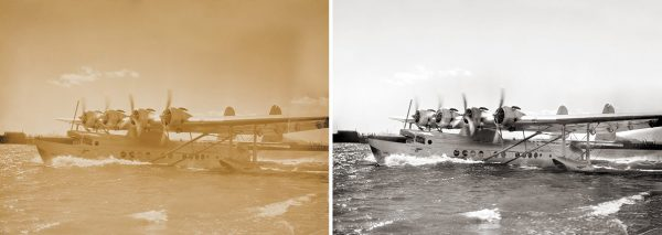 Pan Am Clipper Mike Roberts photography restoration