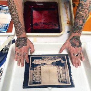 Cyanotype workshop with Daniel Coburn at The Image Flow
