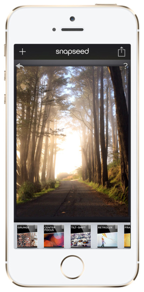 iPhone photographer Michelle Grenier prefers the Snapseed app