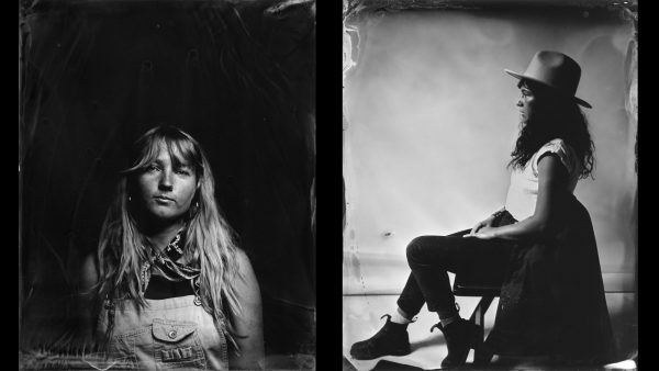 Tintype Workshop | Wet Plate Collodion Photography | The Image Flow. Tintypes © Sienna Streamfellow